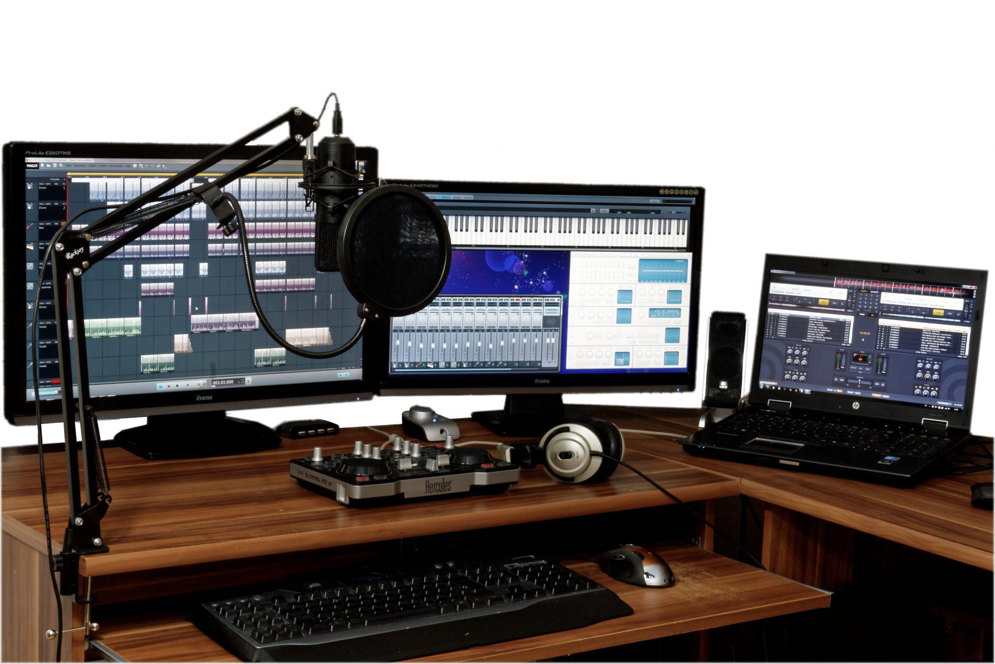 أفضل برامج لتعديل الصوت للمبتدئين في مجال البث الصوتي