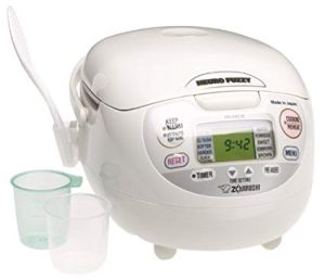 Rice cooker: Zojirushi Neuro Fuzzy NS-ZCC10