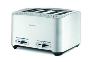 Breville BTW840XL Die-Cast 4-Slice Smart Toaster