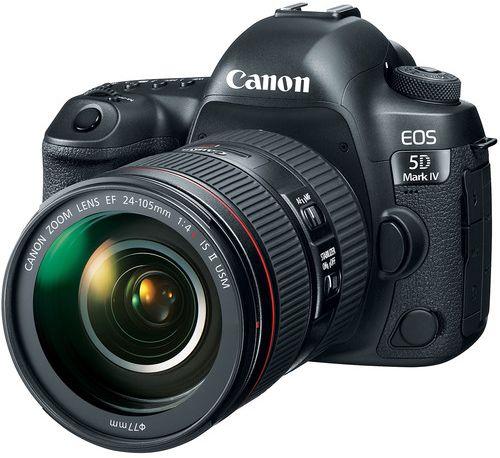 كاميرا كانون Canon EOS 5D Mark IV (الإصدار الخامس)