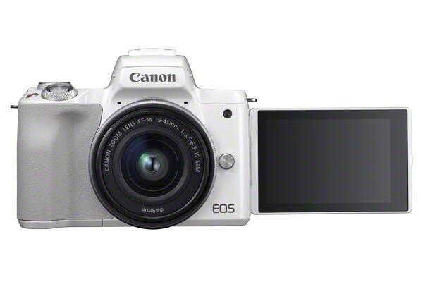 كاميرا كانون M50 – كاميرا بدون مرآة وتقوم بتصوير فيديوهات فور كي