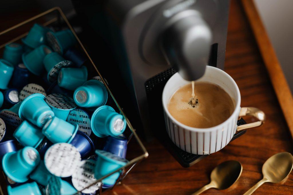 ماكينة قهوة كبسولات